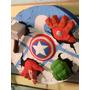Piñata De Los Vengadores (iron Man, Thor, Hulk, Todos)