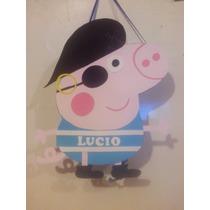 Piñata De George Pig Pirata Pepa Pig Y Muchas Mas !!!
