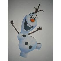 Piñata En Goma Eva Olaf Frozen