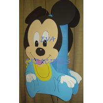 Piñata Figura Mickey-minnie- De Cuerpo Entero!goma Eva