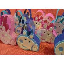 Golosineros Peppa Pig,centro De Mesa,piñata