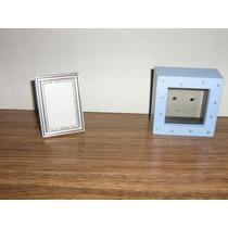 2 Porta Retratos Chicos Cn Vidrio De5x7cm Y 7x 7cm C/ Vidrio