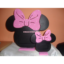 Souvenirs Portaretrato Mickey Y Minnie Central.