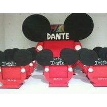 5 Souvenirs Y Un Portaretrato Central Mickey
