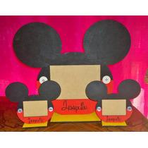 Portaretratos De Minnie Y Mickey (servilleteros- Cajitas)