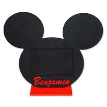 10 Souvenir Mickey Mouse + Foto Personalizada
