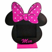 Portaretrato Central Minnie Mouse + Foto Personalizada