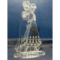 Souvenir Elsa Y Anna Frozen Grabado Laser