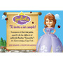Invitaciones Personalizadas Con La Princesa Sofia
