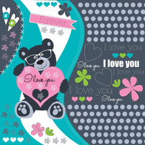 Diseños Niños/niñas Ideal Tarjetas,souvenirs,textiles,cajas