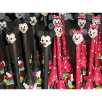 Mickey Y Minnie Souvenirs Portalapiceras Muy Original!!!!