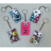 Monster High 30 Llaveros Souvenir Surtidos Con Dedicatoria
