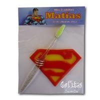Superman. Souvenir Portacepillos De Dientes.