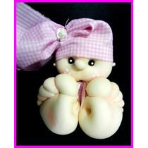 Souvenir 10 Bebes Nacimiento Bautismo Cumpleaños Infantiles