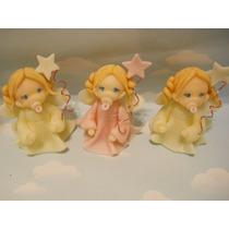 10 Souvenirs Hadas En Porcelana Fria.nacimiento, Bautismo,15