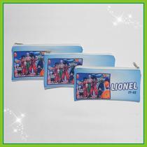 Cartuchera Personalizada De Tela Sublimada De 22 X 10 Cm