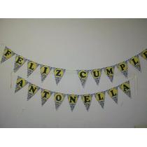 Banderines Para Tu Fiesta!!!! Personalizados!