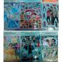 Stickers X10 Grandes Princesas Campanita Bella Cenicienta