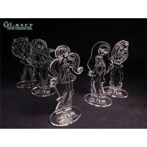 Souvenir Acrílico Monster High Acrilico C/ Nombre Grabado