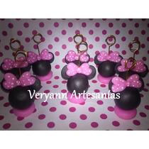 Souvenirs Portamensaje Portafoto En Porcelana Fría Mickey