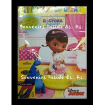 Libros Pintar Monster, Doctora Juguetes Souvenir +6 Lapices