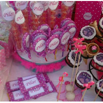Stikers Candy Bar Personalizados Para Cumpleaños