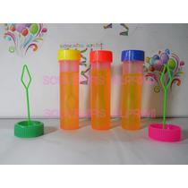 Burbujeros Lisos,personalizado,repuesto,souvenirs X 30 Unid.