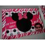 18 Individuales Eco Cuero Henry, Violeta, Mickey - Souvenir