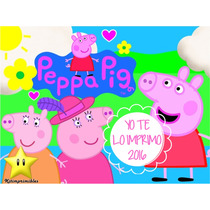 Kit Imprimible Peppa Pig La Cerdita + Candy Bar Ytli2016