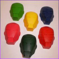 Crayones - Souvenirs - Los Vengadores - Iron Man - Pack X 48
