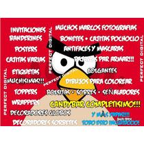 Angry Birds Cumpleaños Set Imprimir Envio Gratis + Regalo!!!