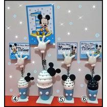10 Souvenirs Mickey Minnie Primer Añito C/ Tarjeta Incluida!