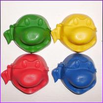Crayones - Souvenirs - Tortugas Ninja - Pack X 48