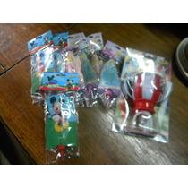 Velas De Cumpleaños De 3 Mickey 5 Princesas Y 1 Copa Vela !