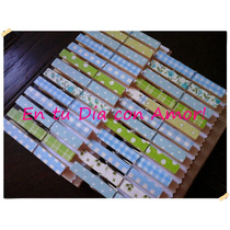Souvenirs Broches Decorados X6 Baby Shower Nacimiento Etc