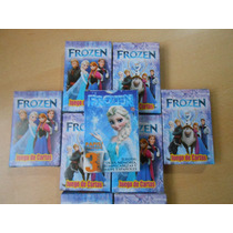 Frozen Tinkerbell Sofia Naipes Cartas Souvenirs Pack X 10