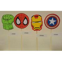 Super Heroes Souvenirs En Goma Eva