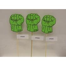 Hulk /super Heroes Souvenirs En Goma Eva