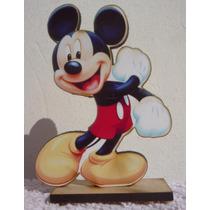 Mickey Siuvenirs Fibro Facil Cumpleaños Minnie Cotillon