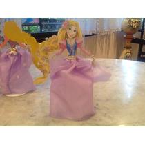 Princesa Rapunzel, Para Souvenir, Centro De Mesa O Torta