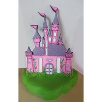 Castillo Princesa Plano Para Tu Torta!!