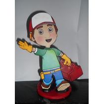 Manny El Constructor,figuras Planas Para Tu Torta!!