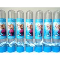 Souvenirs Tubos Golosineros Frozen X 10 Unidades