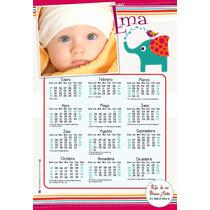 Cumpleaños: Invitaciones + Calendarios Imantados + Poster