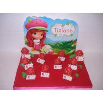 10 Souvenirs Infantiles Frasquitos Frutillitas!!!