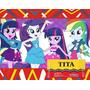 Kit Imprimible My Little Pony Cotillon Y Candy Imprimibles