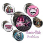 Prendedores Monsters High Pines X10souvenirs 55mm