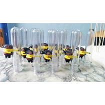 10 Souvenirs Tubos Golosineros Minions
