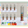 Envase Souvenir Tubo Candy Bar X 10 Unidades!!