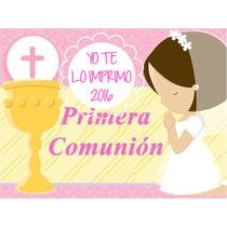 Kit Imprimible Comunion Niña Incluye Candy Ytli2016
